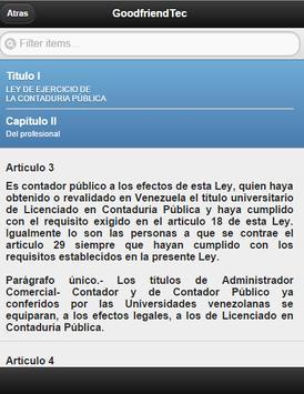 Venezuela Accountants Act apk screenshot