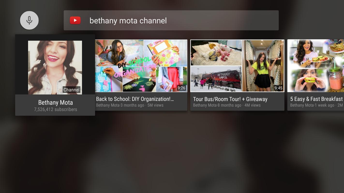 youtube apk tv