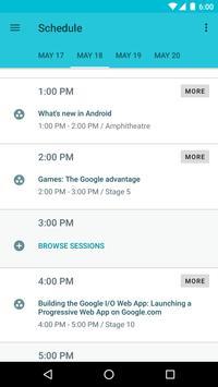 Google I/O 2016 apk screenshot