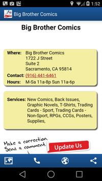 Comic Store Finder apk screenshot