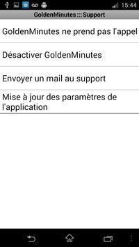 GoldenMinutes apk screenshot