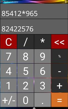 Algebra Calculator apk screenshot