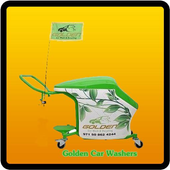 Golden Car Washers icon