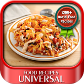 Universal Food Recipes icon