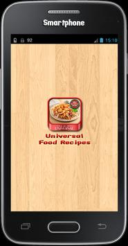 Universal Food Recipes poster