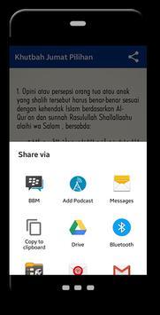 Khutbah Jumat Pilihan apk screenshot