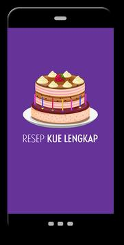 Resep Kue Lengkap poster