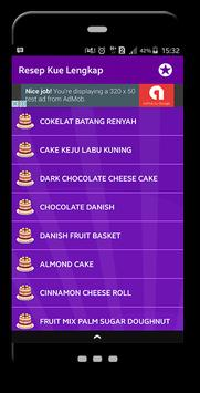 Resep Kue Lengkap apk screenshot