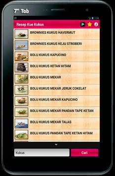 Resep Lengkap Aneka Kue Kukus apk screenshot