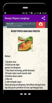 Resep Pepes Lengkap apk screenshot