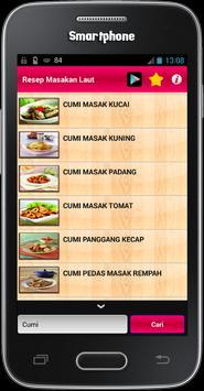 Resep Masakan Laut apk screenshot