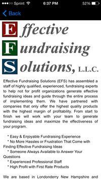 Effective Fundraising Solution apk screenshot