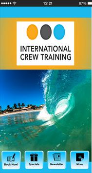 International Crew Training poster