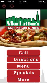 Manhattans Pizza Parlor & More poster
