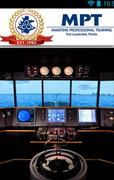 Maritime Professional Training poster