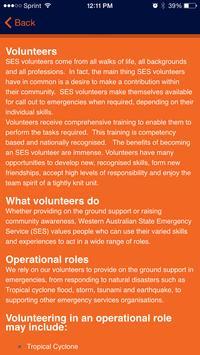SES Volunteer Assoc. SESVA poster