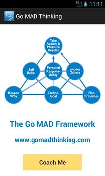 Go MAD Thinking poster
