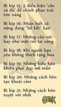 Cẩm Nang Cưa Gái apk screenshot