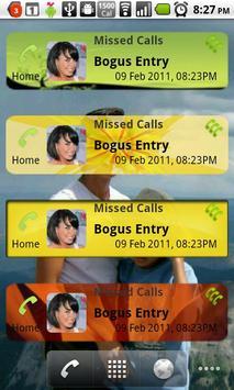 Missed Calls Widget apk screenshot