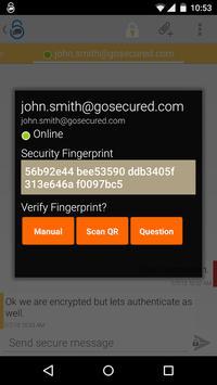 GoSecured IM apk screenshot