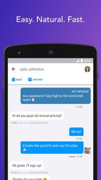 Inbox - Live Chat by GoSquared apk screenshot