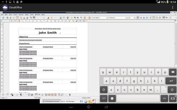 CloudOffice Lite apk screenshot