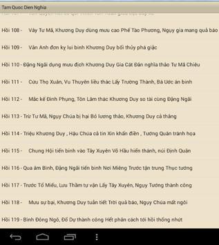 Tam Quốc Diễn Nghĩa Full apk screenshot