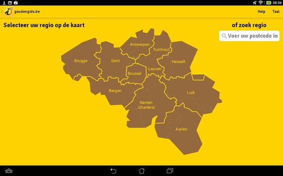 goldenpages.be e-Book apk screenshot