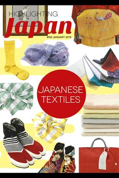 Highlighting JAPAN poster