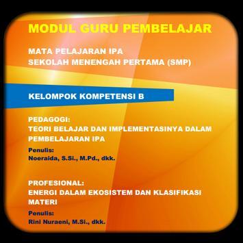 Modul GP IPA SMP KK-B poster