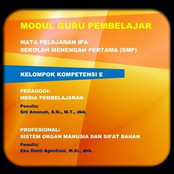 Modul GP IPA SMP KK-E poster