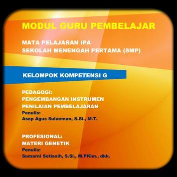 Modul GP IPA SMP KK-G poster