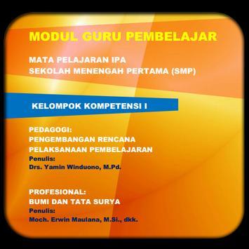 Modul GP IPA SMP KK-I poster