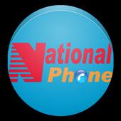 National Phone icon