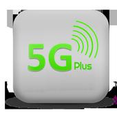 5G Plus Social icon