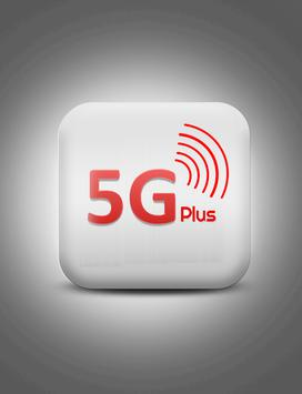 5G Plus Social poster