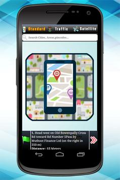 GPS Route Address Finder poster