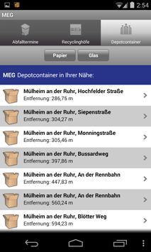 MEG-App apk screenshot