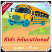 Kids educational games offline icon