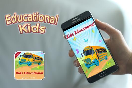 Kids educational games offline poster