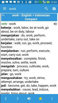 English Indonesian Dictionary poster