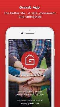 Graaab App poster