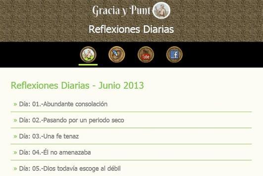 Reflexiones Diarias apk screenshot