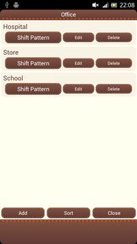 Shift Calendar apk screenshot