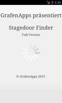 Stagedoor Finder poster