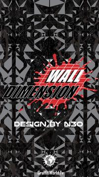 Wall Dimension poster
