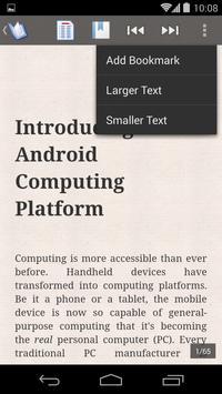 ePub Reader for Android apk screenshot