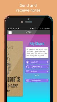 MyKrd Business Cards apk screenshot
