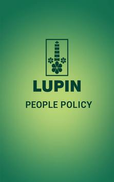 Lupin People Policy poster