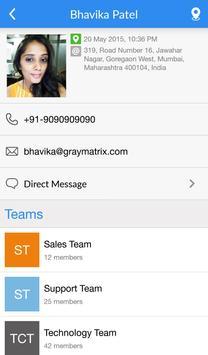 Team Tracker apk screenshot